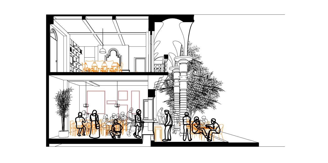 Restaurant-Cross-Section